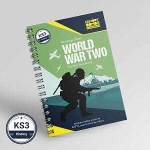 World War 2 Teacher Handbook for KS3 and GCSE history students by History Bombs.