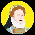 History Bomb avatar called Elizabeth.