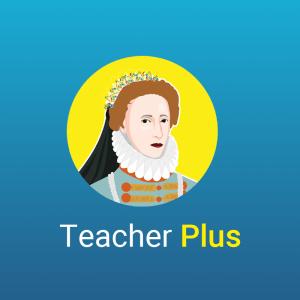 History Bomb's Teacher Plus membership option avatar.