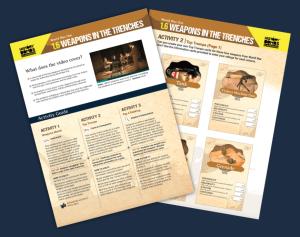 KS3 History activity sheet by History Bombs