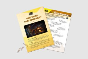 World War One Why Did Men Sign Up teacher activity resource pack for KS3 students by History Bombs.