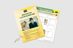 World War 2 Life On The Home Front teacher resource activity pack for KS3 students by History Bombs.