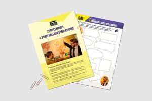 20th Century Britain Loses Her Empire activity pack for teachers by History Bombs.