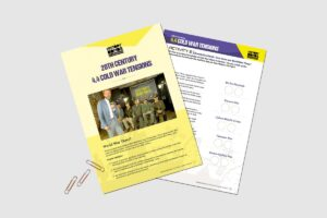20th Century Cold War Tensions teacher activity pack by History Bombs.