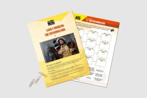 Early Modern The Reformation teacher resource pack by History Bombs.