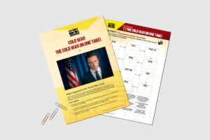 Cold War (In One Take) teacher resource pack from History Bombs.
