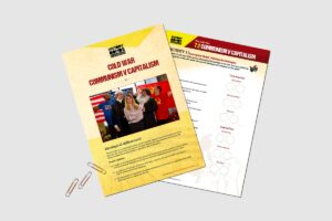 Cold War Communism vs Capitalism teacher resource pack by History Bombs.