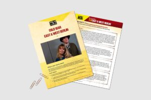 Cold War East and West Berlin teacher resource pack by History Bombs.