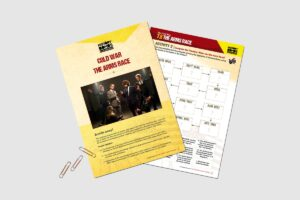Cold War The Arms Race teacher resource pack from History Bombs.