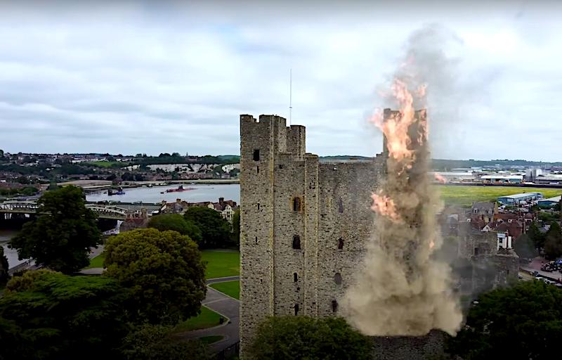 Siege of Rochester Castle